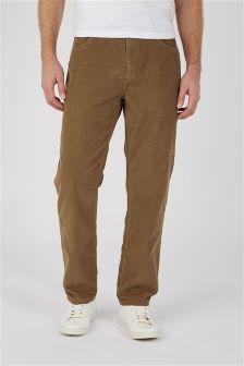Вельветовые брюки с пятью карманами