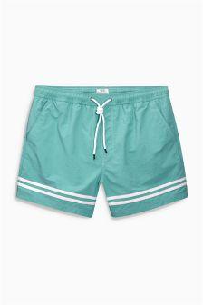 Placement Stripe Swim Shorts