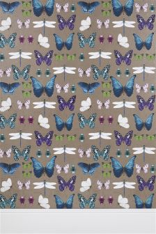 Paste The Wall Butterflies Wallpaper