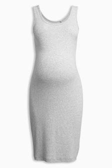 Maternity Scoop Vest Dress