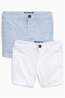 Chino Shorts Two Pack (3mths-5yrs)