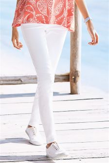 Buy white Women's Jeans from Next India