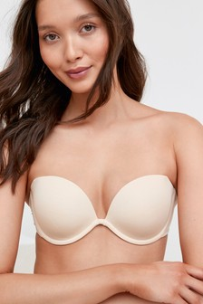 Nude                     Clear Back Multiway Bra
