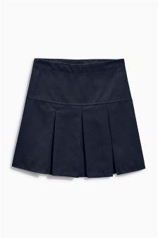 Удлиненная плиссированная юбка (3-16 лет)