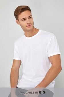 T-shirt con maniche con risvolto