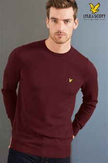 Lyle & Scott Crew Neck Merino Jumper