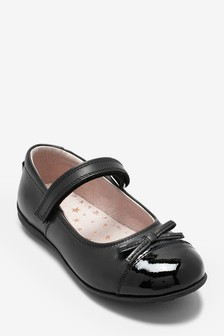 Patent Toe Cap Shoes (Older Girls)