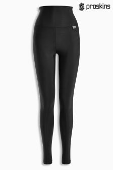 Czarne legginsy Proskins Gym z wysokim stanem