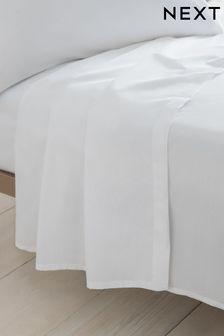 Cotton Rich Plain Dye Flat Sheet