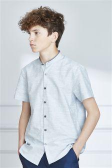 Short Sleeve Smart Neppy Shirt (3-16yrs)