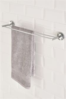 deco double towel rail - Bathroom Accessories Towel Rail