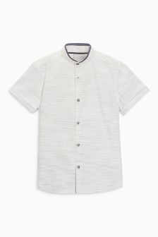 Short Sleeve Smart Neppy Shirt (3-16yrs)