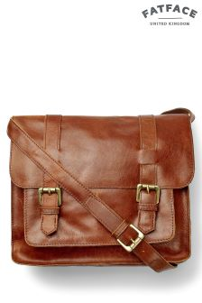 Fat Face Tan Claire Satchel Bag
