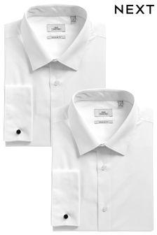 Две однотонные рубашки