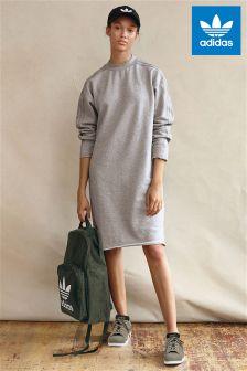 adidas Originals Grey Sweater Dress