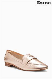 Dune Rose Gold Galer Unlined Loafer