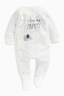 Mummy Character Sleepsuit (0-18mths)