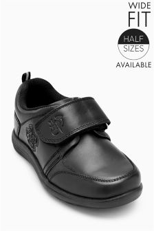 Harry Potter Single Strap Leather Shoes (Older Boys)