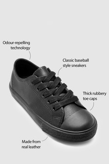 Lace-Up Leather Sneakers (Older Boys)