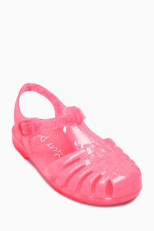 Glitter Jelly Sandals (Younger Girls)