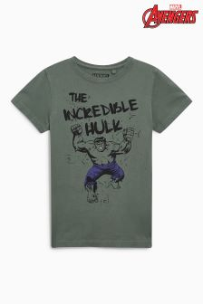 Incredible Hulk Washed T-Shirt (3-16yrs)
