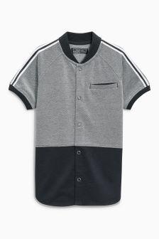 Baseball Neck Shirt (3-16yrs)