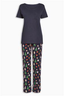 Christmas Printed Pyjamas