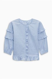 Ruffle Blouse (3mths-6yrs)
