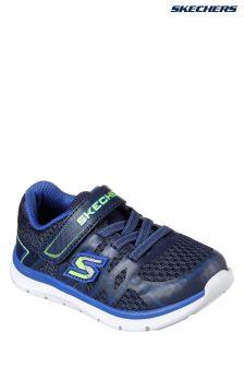 Skechers® Blue Skech Lite Quick Leap Gore Strap Sneaker