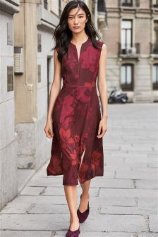 Split Hem Dress