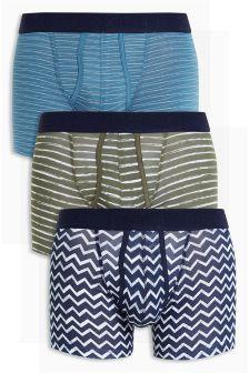 Stripe A-Fronts Three Pack