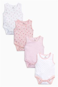 Bodysuits Four Pack (0mths-3yrs)