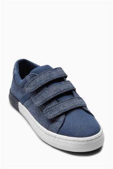 Smart Triple Strap Shoes (Older Boys)