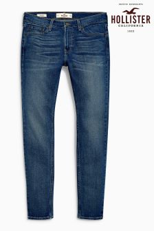 Hollister Light Wash Super Skinny Jean