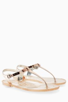 Beach Jelly Sandals
