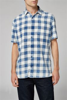 Short Sleeve Buffalo Check