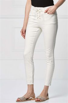 Lace Front Trousers