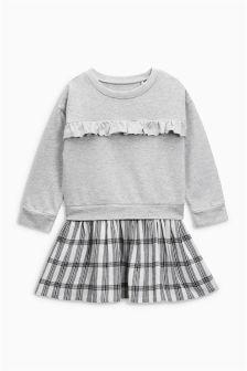 Sweat Check Dress (3mths-6yrs)