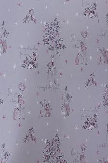 Metallic Woodland Wallpaper