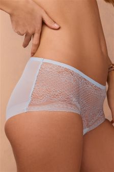 Banded Lace Brazilian Briefs