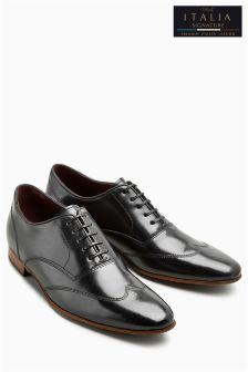 Туфли с крыловидным вставками из именной коллекции