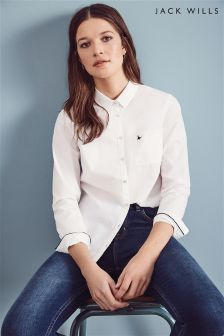 Jack Wills White Highmoore Oxford Shirt
