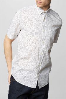 Koszula z nadrukiem geometrycznym