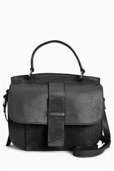 Top Handle Saddle Bag