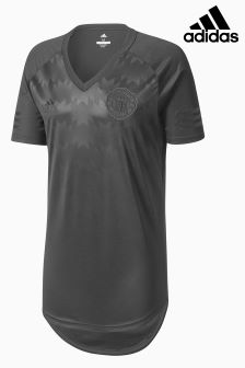 adidas Manchester United FC 2017/18 Longline T-Shirt
