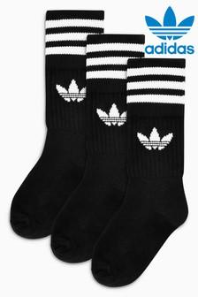 adidas Originals Trefoil Crew Sock Three Pack