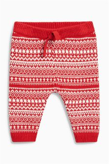 Fairisle Pattern Joggers (0mths-2yrs)