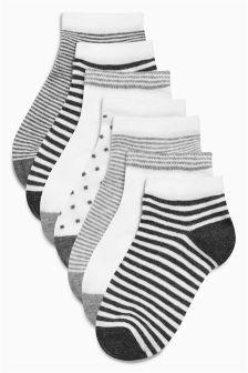 Набор из семи пар спортивных носков (Девушки)