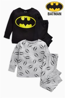 Batman® Pyjamas Two Pack (9mths-8yrs)