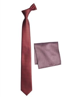 Tie With Pattern Pocket Square